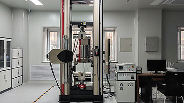 Z250 SH AllroundLine testing machine for high-temperature tensile tests to +1,200°C