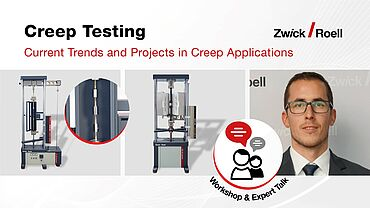Workshop - Current Trends and Projects in Creep Applications