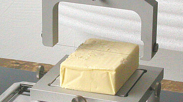 ISO 16305 – strength of butter – butter cutter