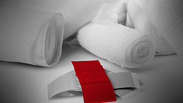 ZwickRoell testing systems for tests on medical textile products