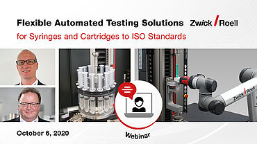 Flexible Automated Testing Solutions for Syringes and Cartridges to ISO Standards