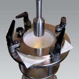 DIN EN ISO 12236 Static puncture test - manual fixture