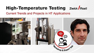 Workshop - Current Trends and Projects in High-Temperature Applications