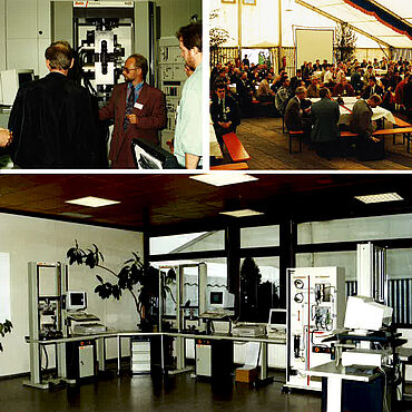 First testXpo at Zwick, 1992