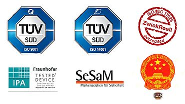 Reliable Test Results - Certificates - Made in Germany - ZwickRoell