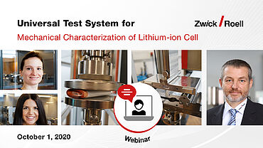 Universal Test System for Mechanical Characterization of Lithium-ion Battery Cell Materials and Components